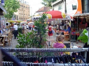 Market in Paris.